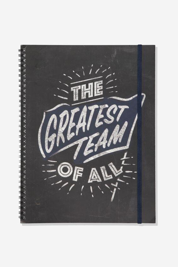 Afl Team Spiral Note Book, GEELONG