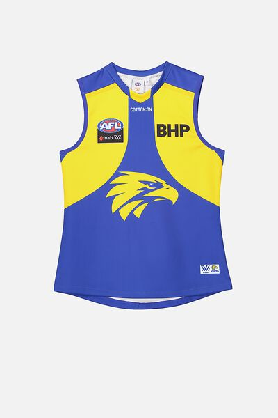 Aflw 2020 Retail Home Guernsey - Jnr, WEST COAST EAGLES