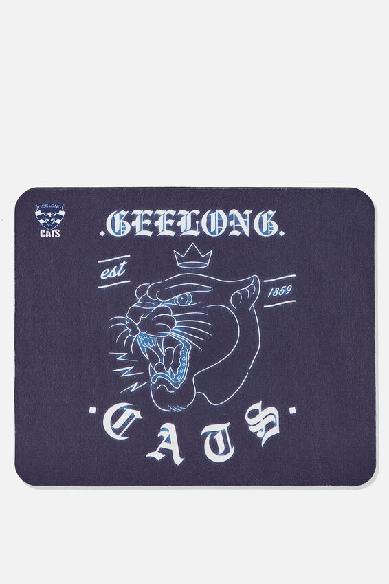 Afl Neoprene Mouse Pad - Canvas, GEELONG