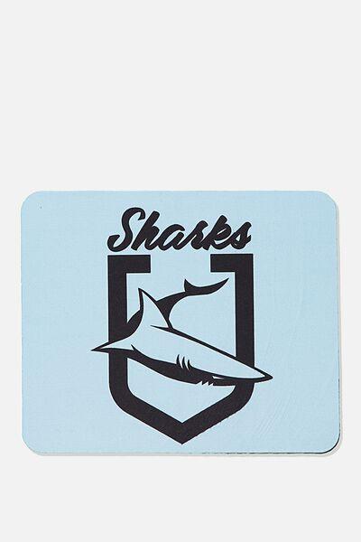 Nrl Shield Mouse Pad, SHARKS