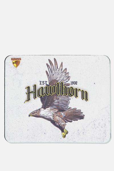 Afl Neoprene Mouse Pad - Canvas, HAWTHORN