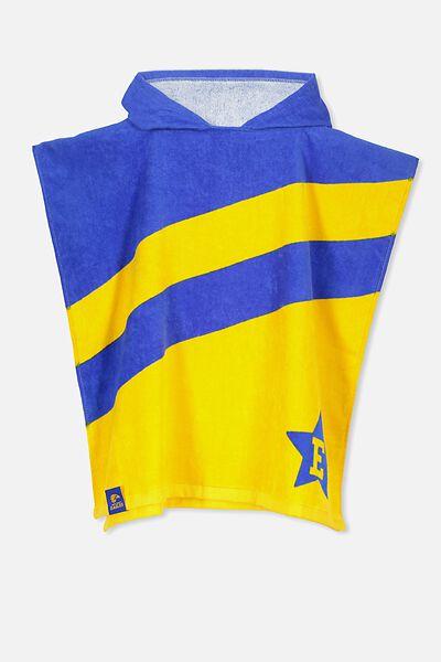 Afl Kids Poncho Towel, WEST COAST EAGLES