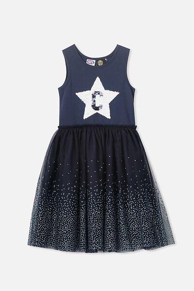 AFL Girls Tulle Dress, CARLTON