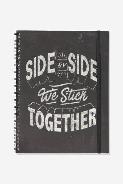 Afl Team Spiral Note Book, COLLINGWOOD