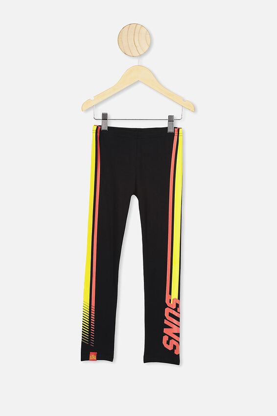 Afl Kids Team Leggings, GOLD COAST