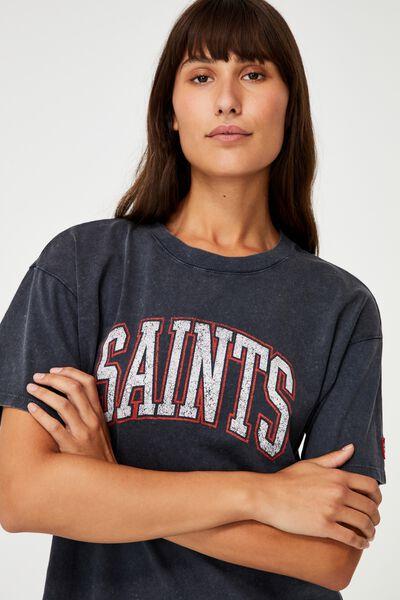 Afl Womens Collegiate T-Shirt, ST KILDA