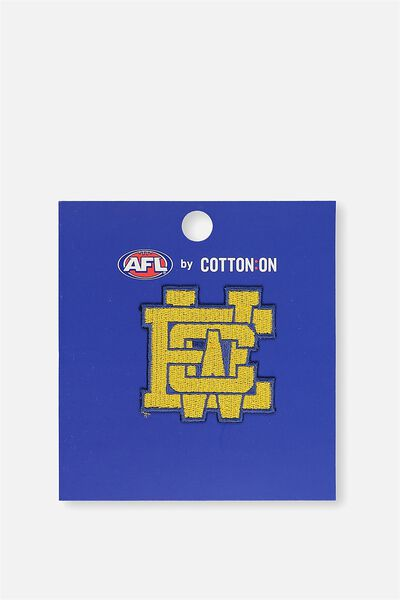 Afl Iron On Badge 2 - Logo, WEST COAST EAGLES