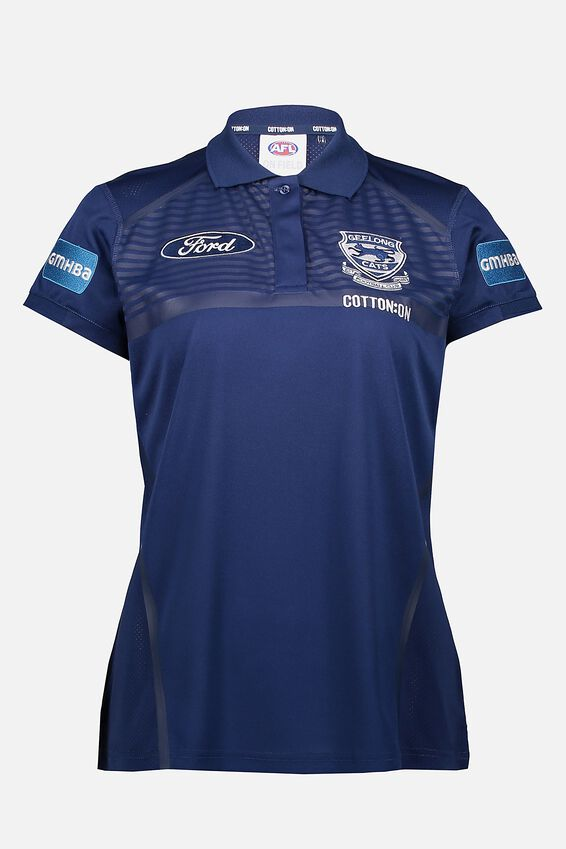 Gfc Media Polo - Women, NAVY