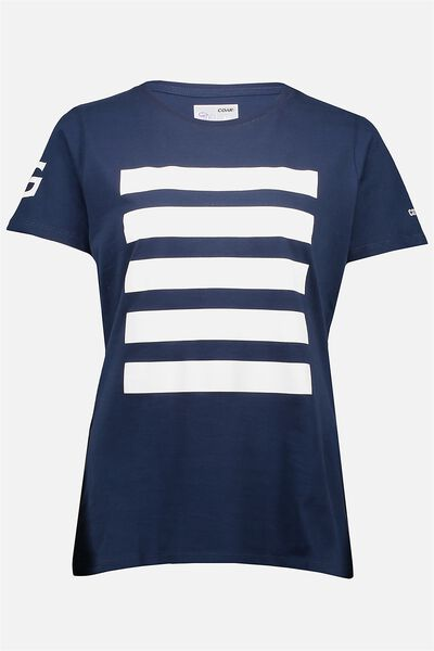 Gfc Cats Gym Tee - Womens, NAVY