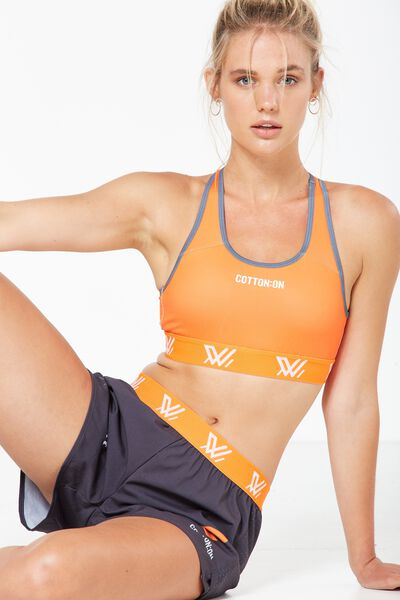 Aflw Racer Back Crop Top, GWS