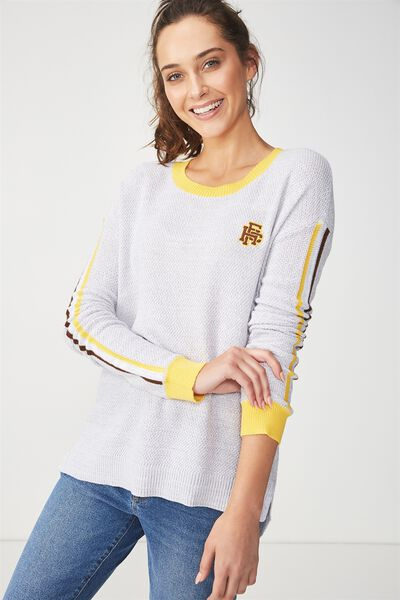 Afl Knitted Pullover, HAWTHORN