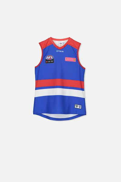 Aflw 2020 Retail Home Guernsey - Jnr, WESTERN BULLDOGS