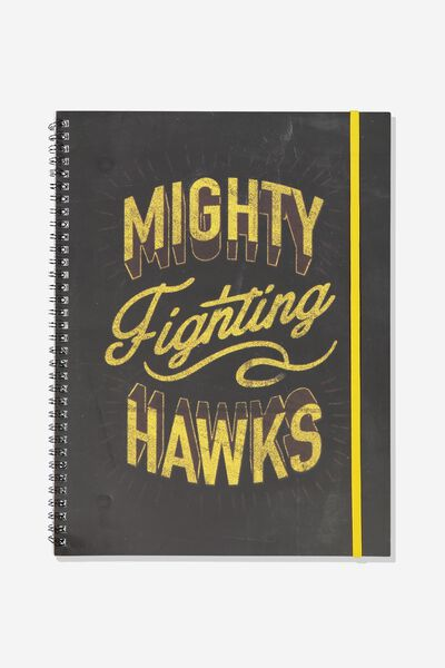 Afl Team Spiral Note Book, HAWTHORN