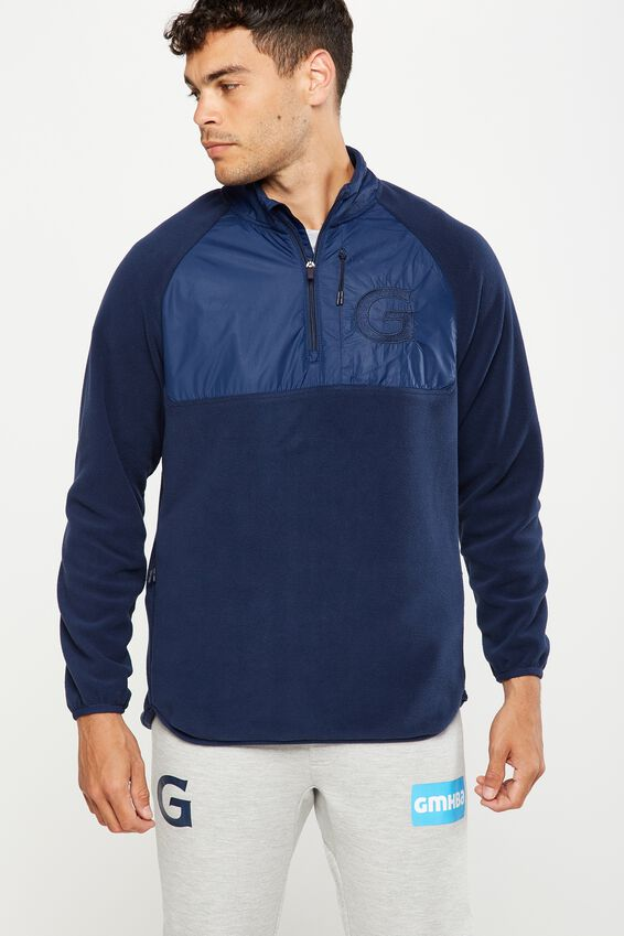 Gfc Polar Fleece - Mens, NAVY