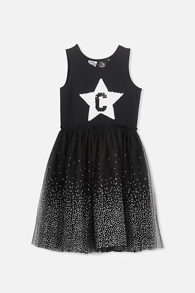 Afl Girls Tulle Dress, COLLINGWOOD