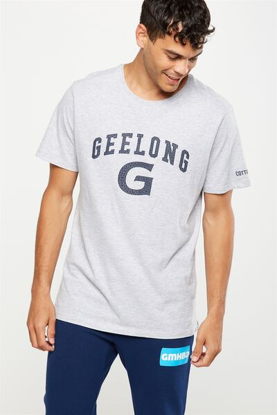 Gfc Gym Tee, GREY MARLE