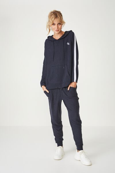 Afl Ladies Supersoft Hoody, CARLTON