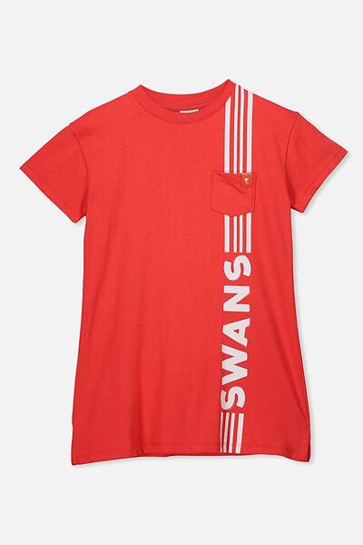 Afl Girls T-Shirt Dress, SYDNEY