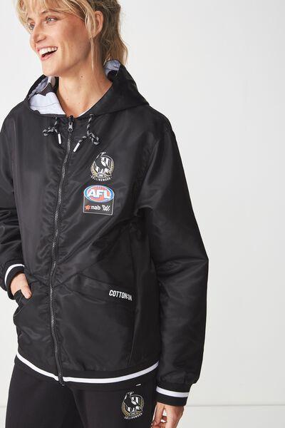 Aflw 2019 Reversible Jacket, COLLINGWOOD