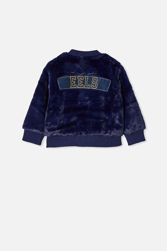 Nrl Kids Fur Bomber Jacket, EELS