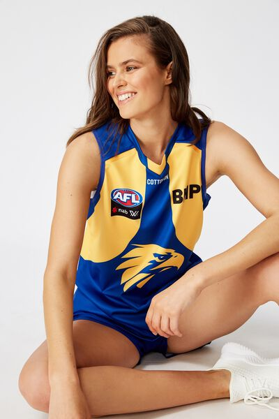 Aflw 2020 Retail Home Guernsey, WEST COAST EAGLES