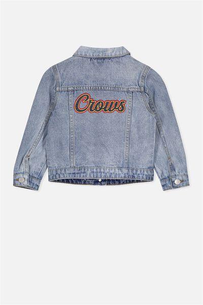 Afl Kids Denim Jacket, ADELAIDE