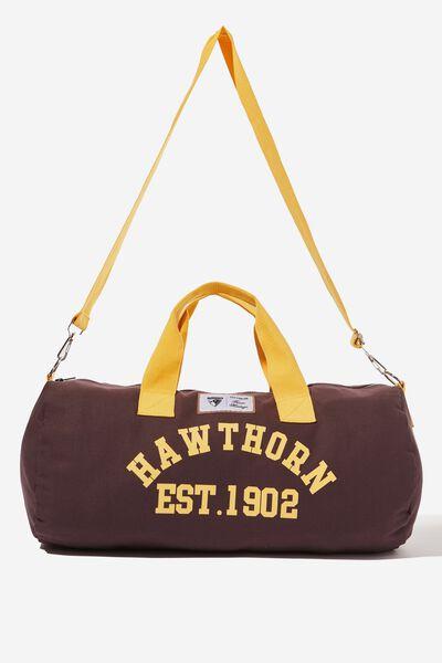 Afl Duffle Bag, HAWTHORN