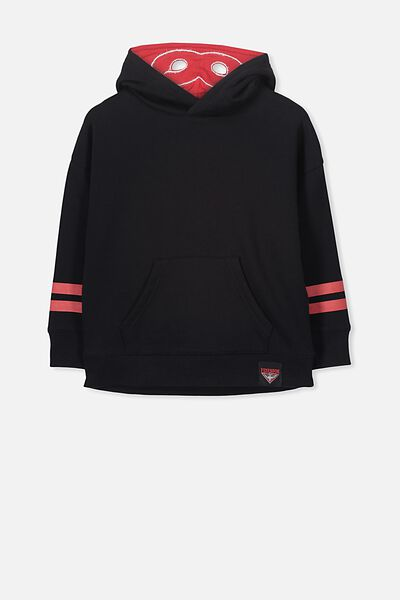 Afl Kids Fleece Hoodie, ESSENDON