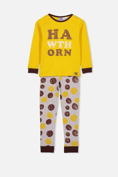 Afl Kids Pj Set, HAWTHORN