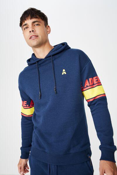 Afl Emblem Drop Shoulder Hoody, ADELAIDE