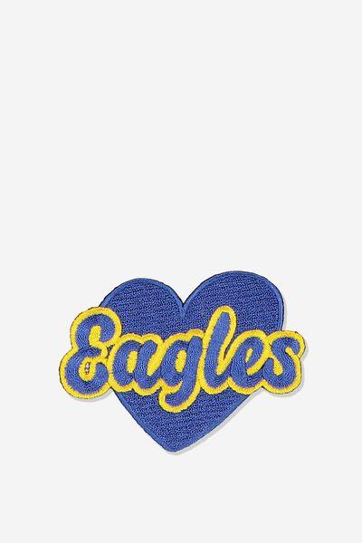 Afl Badge Heart, WEST COAST EAGLES