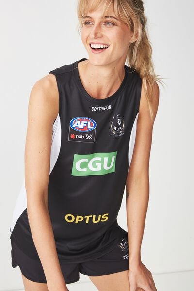 Aflw 2019 Training Tank, COLLINGWOOD