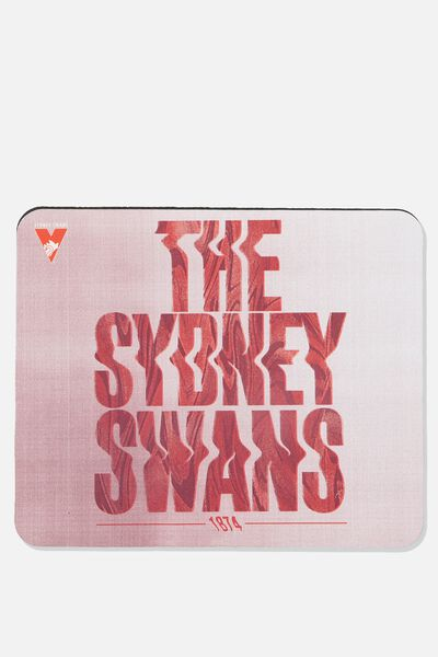 Afl Neoprene Mouse Pad - Canvas, SYDNEY