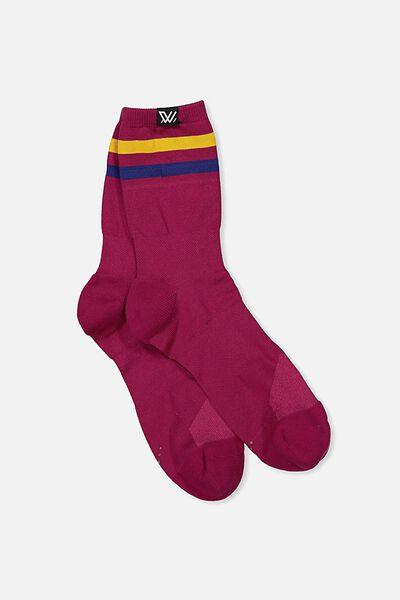 Aflw Playing Sock, BRISBANE