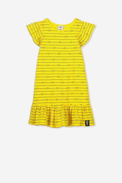 Afl Girls Frill Dress, RICHMOND