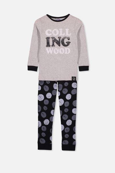 Afl Kids Pj Set, COLLINGWOOD