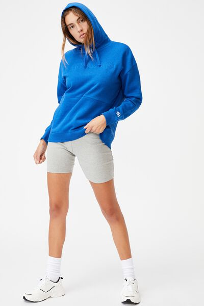 Afl Womens Embroidered Pocket Hoodie, NORTH MELBOURNE