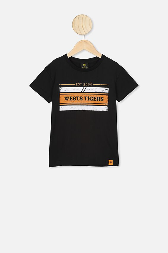 Nrl Kids Graphic T-Shirt, WESTS TIGERS