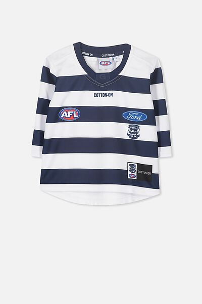 Gfc Infant Guernsey - Home L/S, WHITE