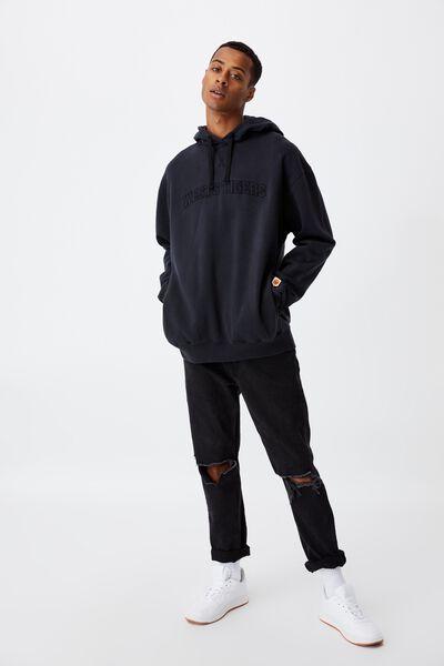 Nrl Mens Embroidered Hoodie, WESTS TIGERS