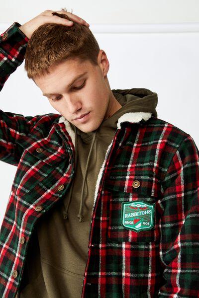 Nrl Mens Sherpa Jacket, RABBITOHS