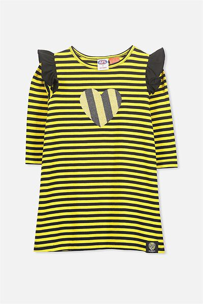 Afl Girls L/S Nightie, RICHMOND