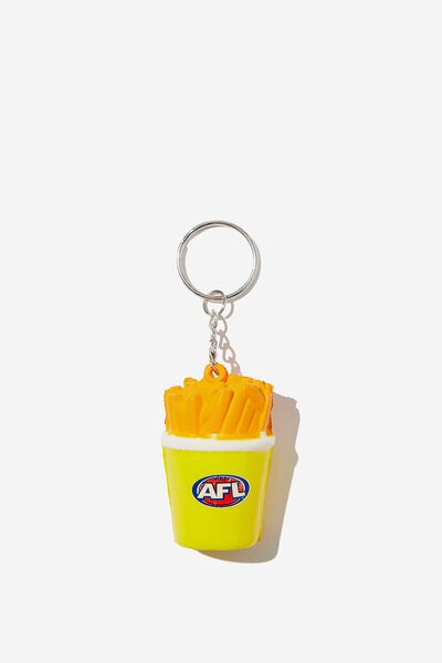 Afl Novelty Squishy Keyring, HOT CHIPS