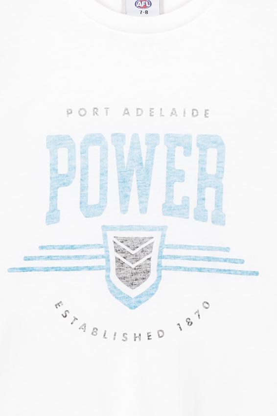 Afl Kids Graphic Tank Top, PORT ADELAIDE