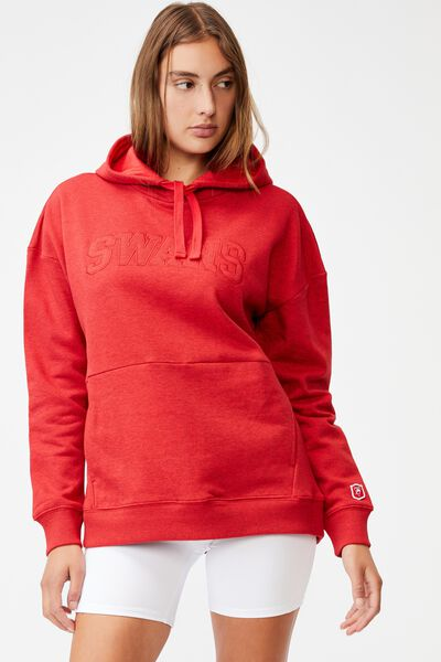 Afl Womens Embroidered Pocket Hoodie, SYDNEY