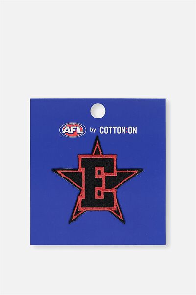 Afl Personalised Badge 1 - Star, ESSENDON