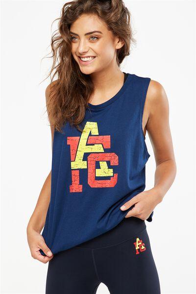 Afl Ladies Muscle Tank, ADELAIDE