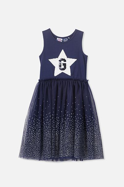 Afl Girls Tulle Dress, GEELONG