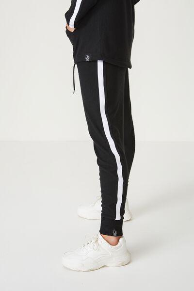 Afl Ladies Supersoft Slim Leg Pant, COLLINGWOOD