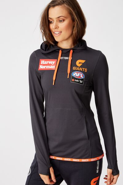 Aflw 2020 Ls Hooded Performance Top - Womens, GWS